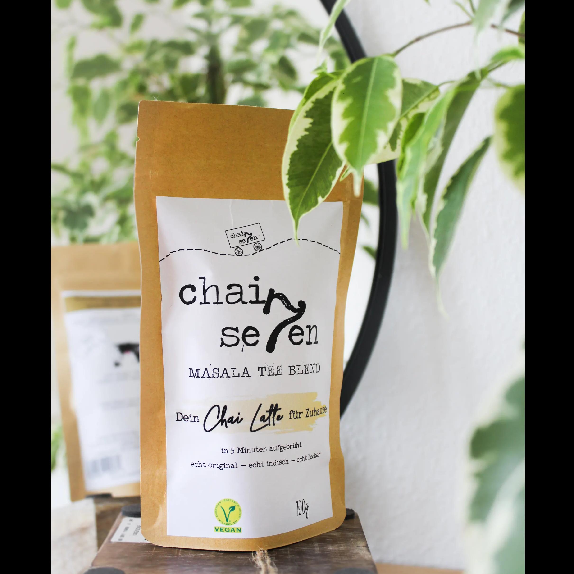 Chai Latte 100g Verpackung Vorderseite