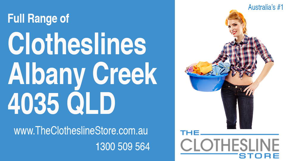 New Clotheslines in Albany Creek Queensland 4035