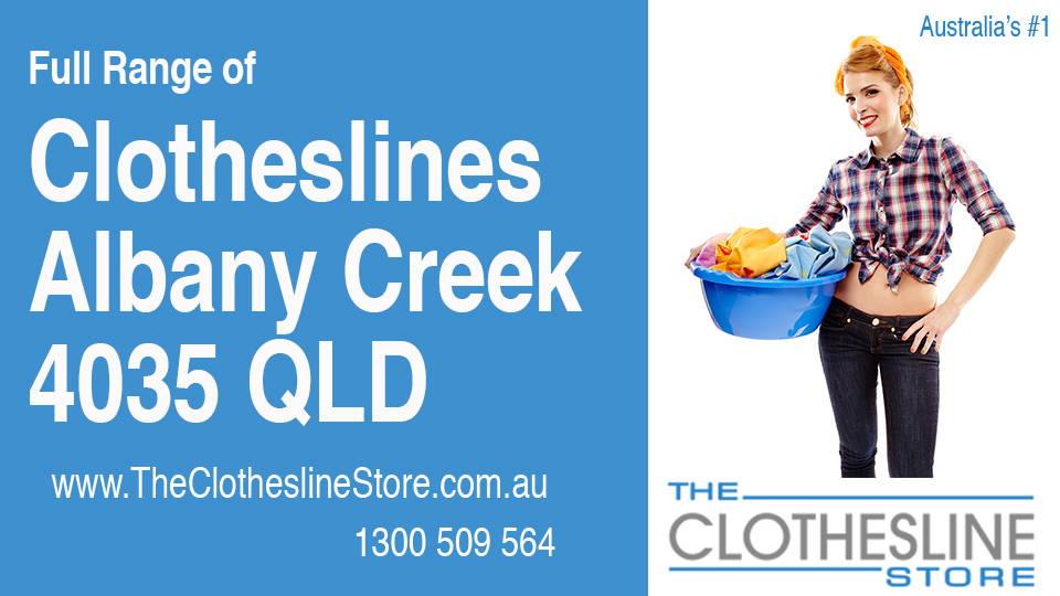 New Clotheslines in Albany Creek Queensland 4035