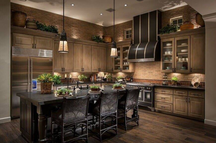 Traditional kitchen intiors by brand lighting