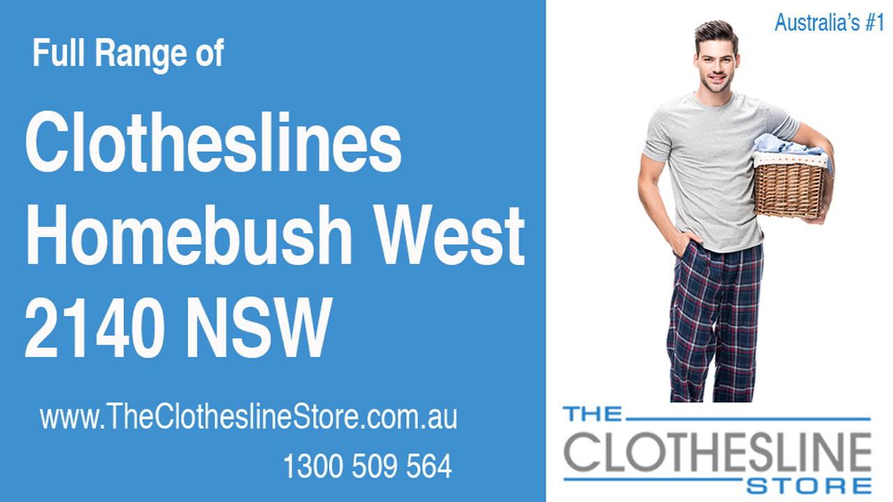 Clotheslines Homebush West 2140 NSW
