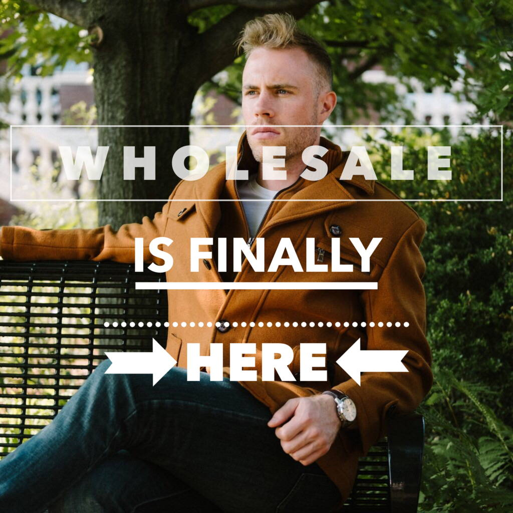 Wholesale is finally here