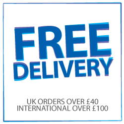Free UK delivery on orders over £40, over £100 for free international delivery