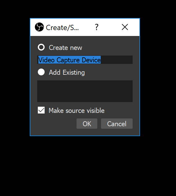Creating Capture Device