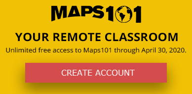 MAPS101 Your Remote Classroom - Create Account