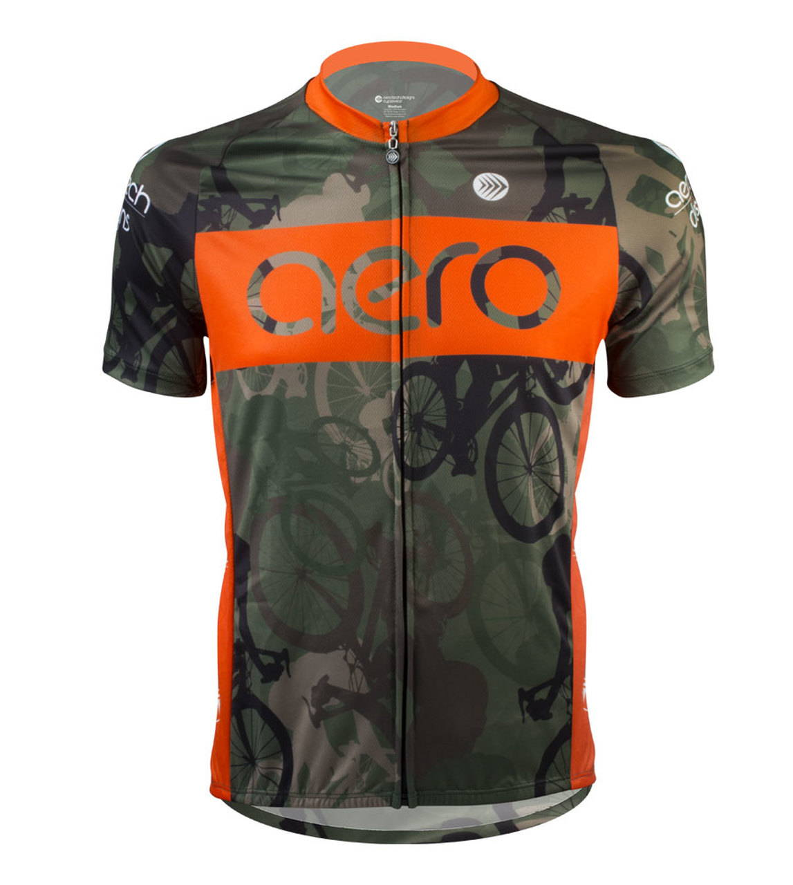 woodlands camo cycling jersey