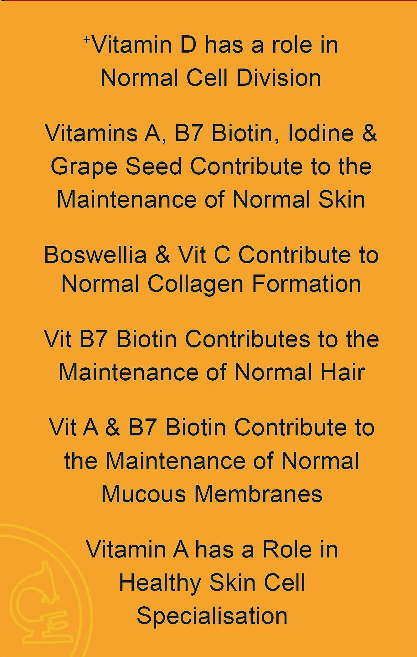 Healthy Cell 6 - Benefits