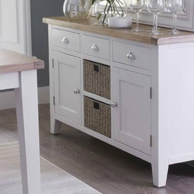 White & Oak Painted Furniture