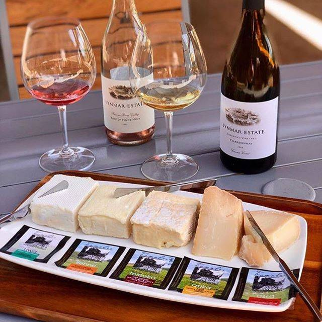 Tomales Farmstead Cheese and Wine Pairing