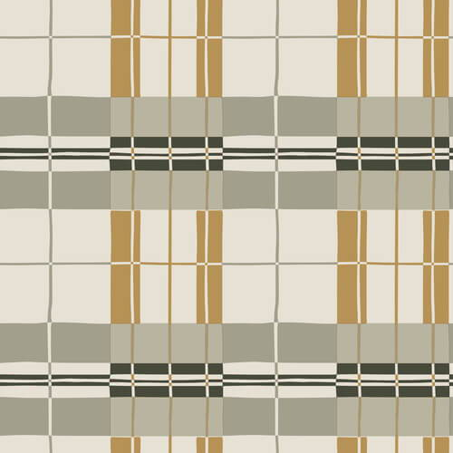 Tempaper Paired Back Plaid Wallpaper