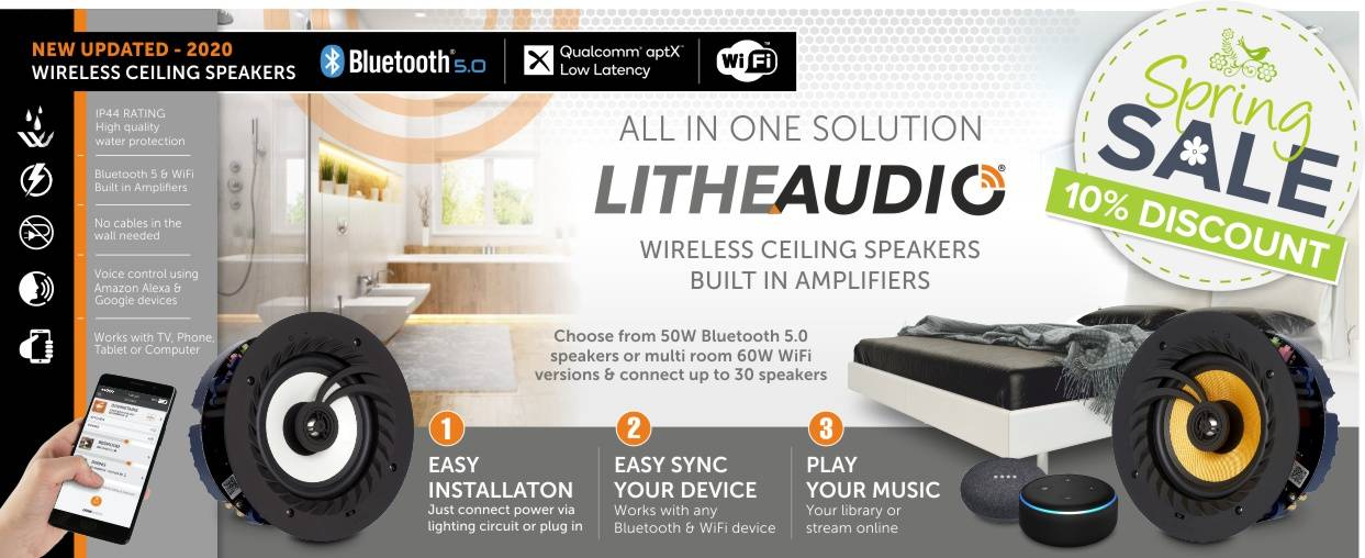 Lithe Audio 10% Discount this Spring at Audio Volt