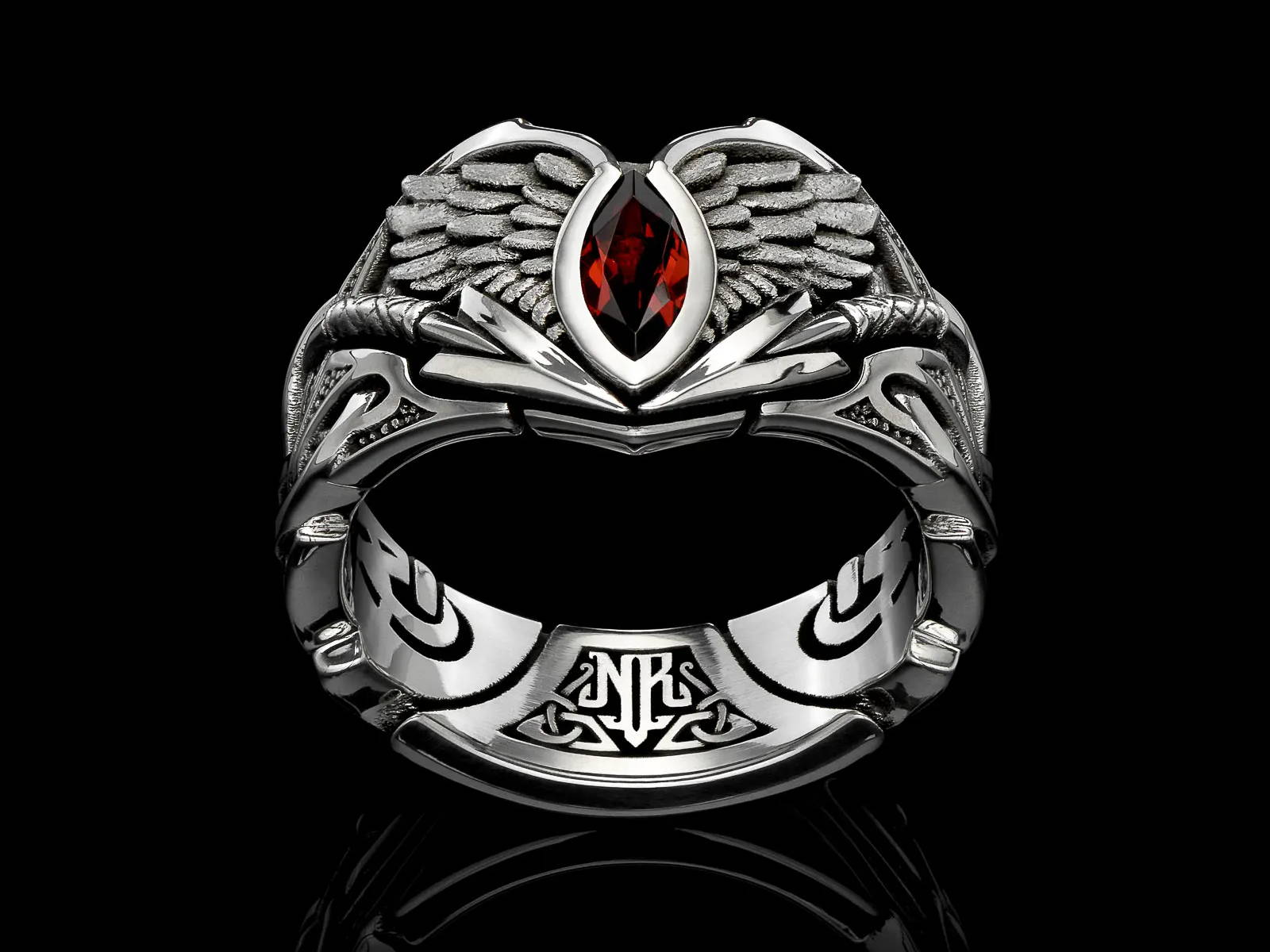 The Valkyria Band - A Valkyrie Ring for the Modern Woman Warrior