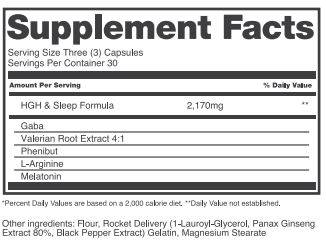 Amino Acid Blend To Increase Hgh
