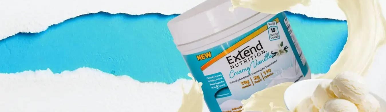 Clinically Proven Anytime Protein Shakes designed to help control blood sugar.