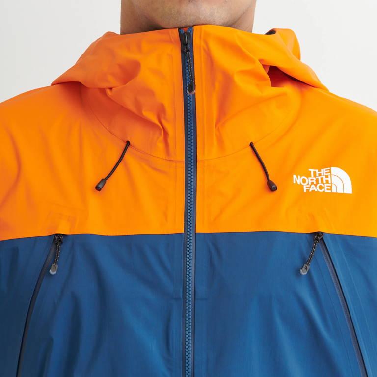 THE NORTH FACE(ザ・ノース・フェイス)/FLスーパーヘイズジャケット/ネイビー×オレンジ/MENS