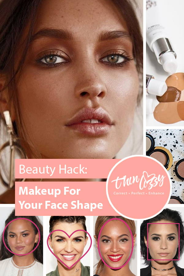 Thin lizzy cosmetics how to beauty makeup for your face shape