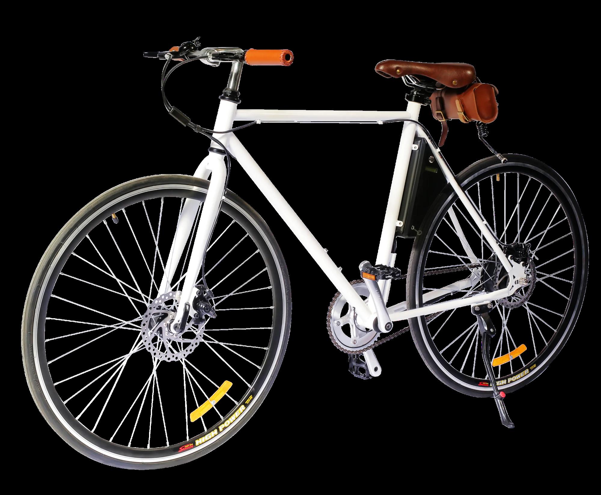 White E-bike - SUNL