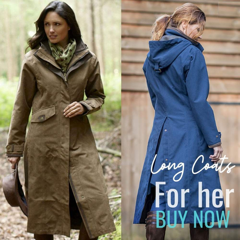 Long coats for dog walking