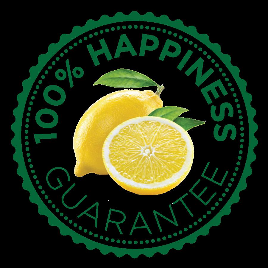 True Citrus 100% Happiness Guarantee Seal