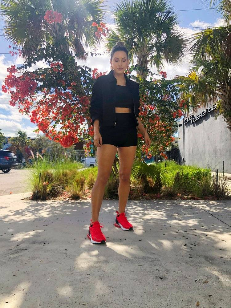 Natasha Martinez in Miami, Florida.