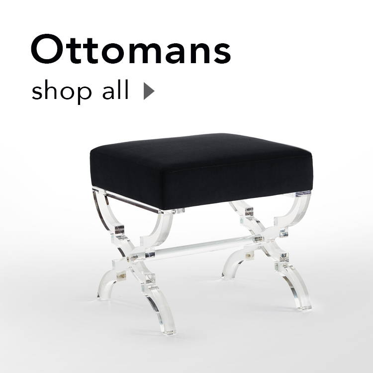 shop all inspired home ottomans