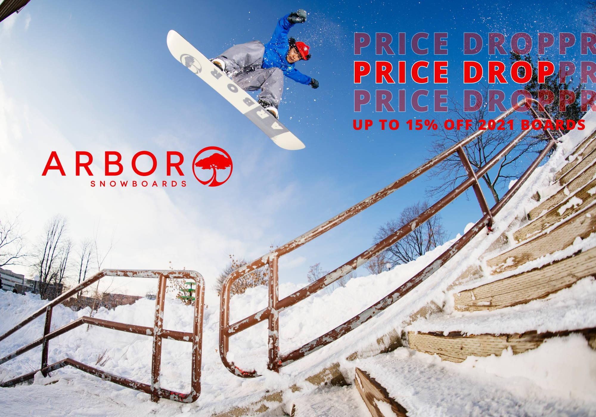 Arbor Price Drop