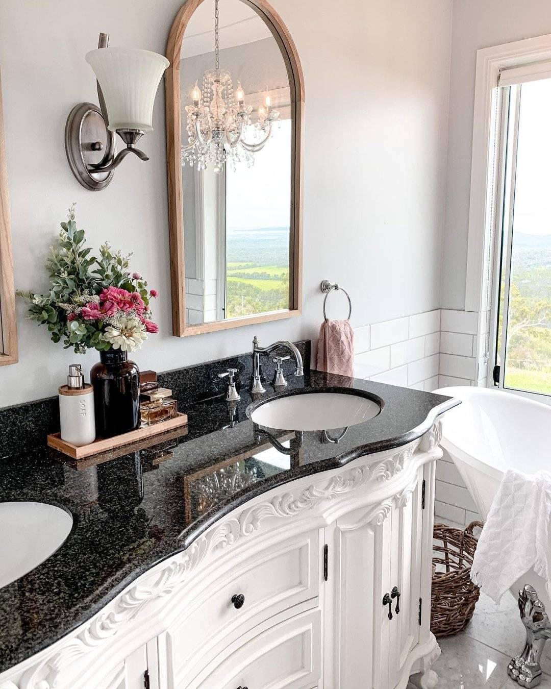 Painted Bathroom Vanity - Jolie Paint Palace White