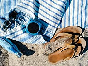 Sunfox solar speaker is at the beach, it is a sandproof device.