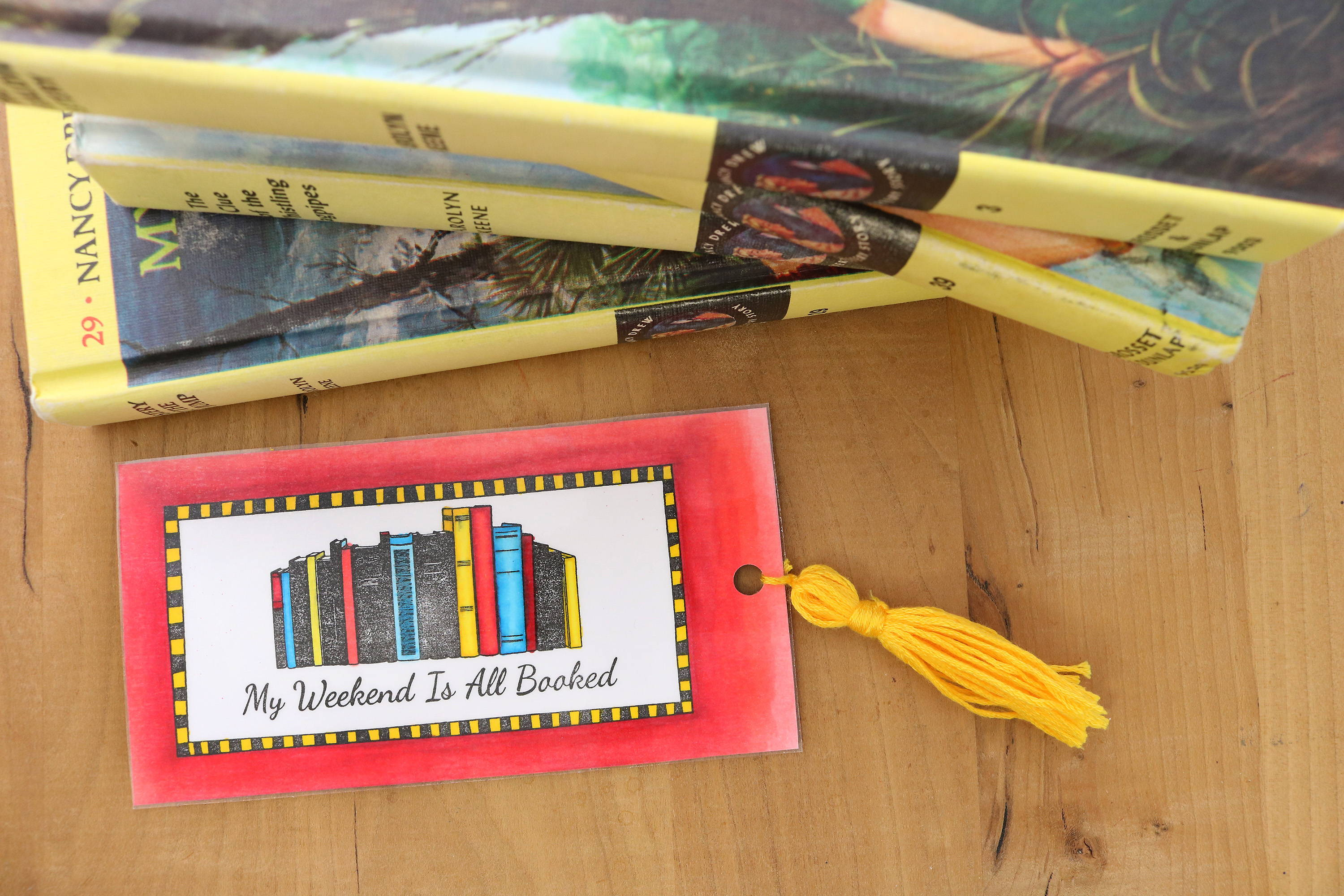 How To Make Stamped DIY Bookmarks
