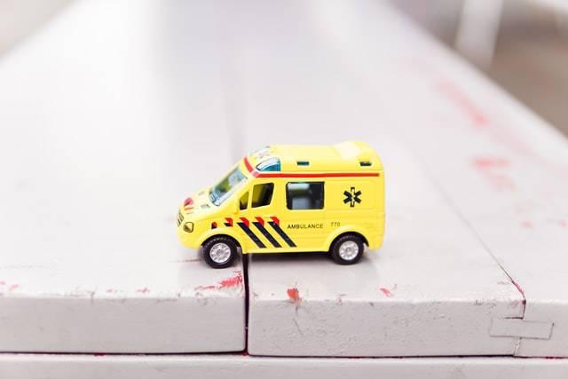 Yellow Toy Ambulance