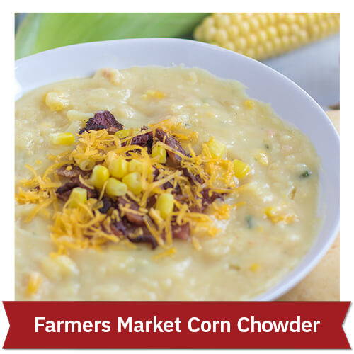Farmers Market Corn Chowder