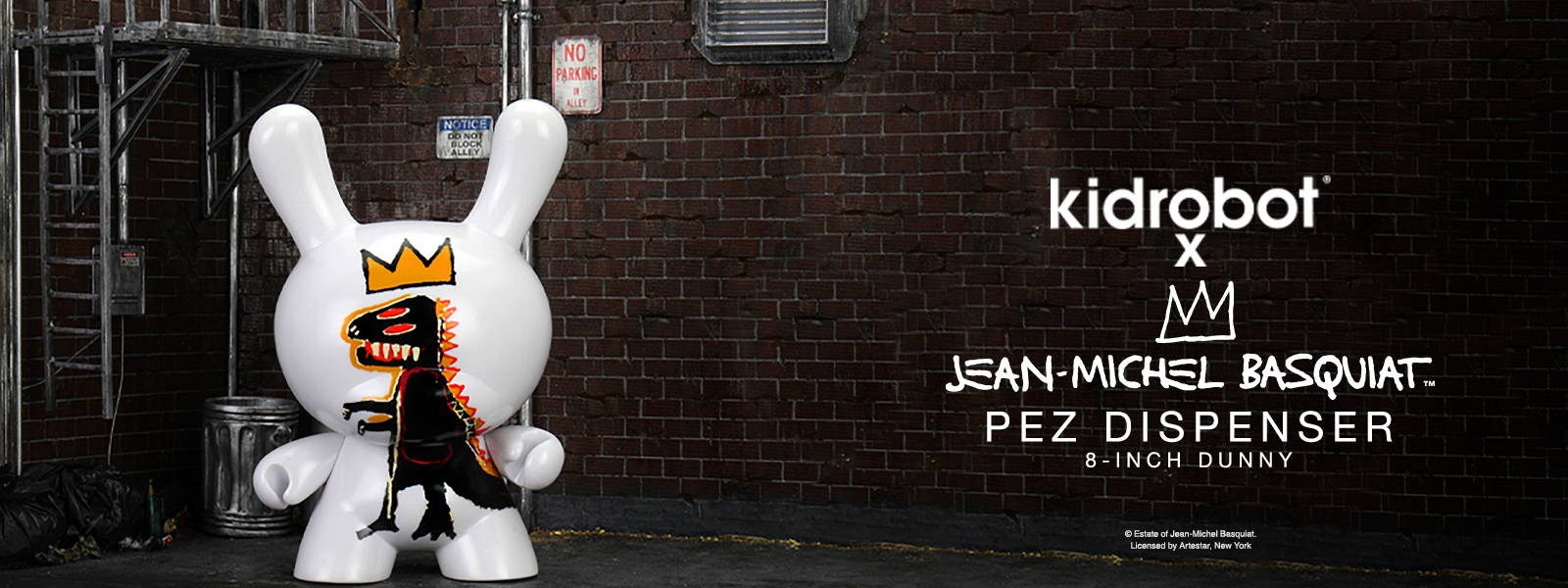 Kidrobot Basquiat Pez Dunny Art Figure