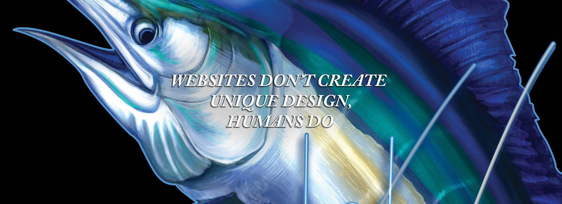 websites dont create unique design but humans do quote by briny
