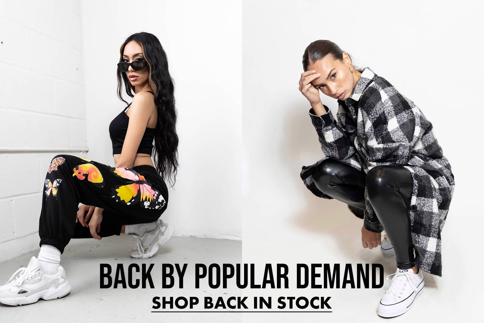 Shop Items that are Back in Stock