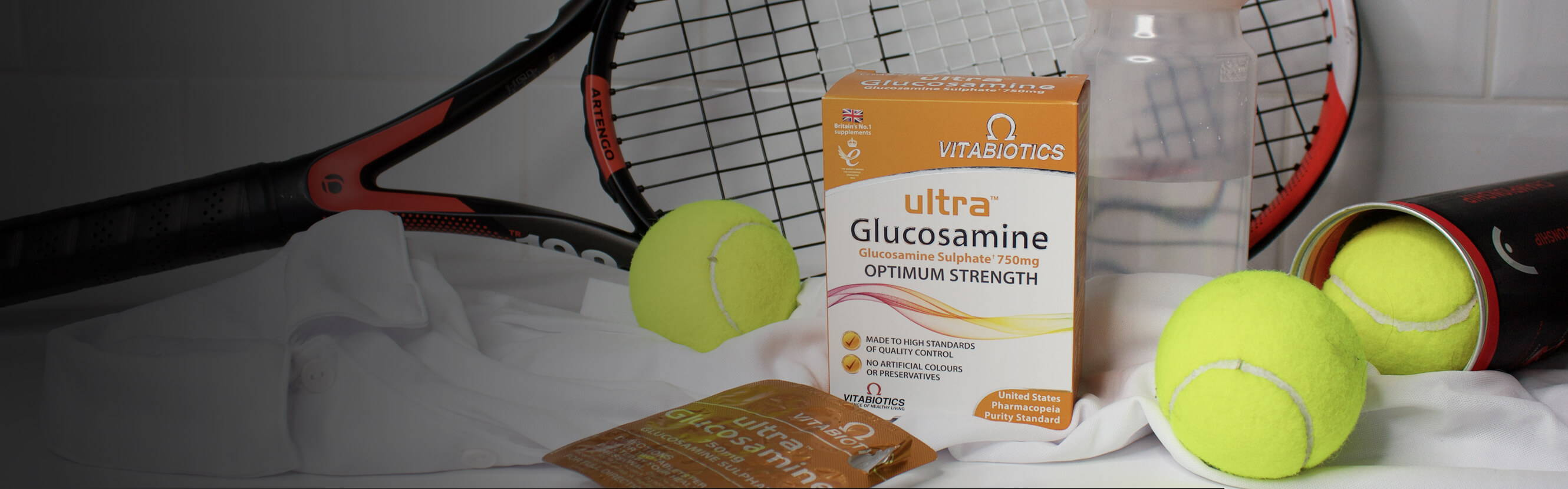 When you're using Glucosamine supplement, pay special attention to the form it comes in. Unlike sodium forms, the Glucosamine in Ultra Glucosamine is in potassium form, the one that's preferred for improved absorption.