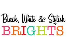 Schoolgirl Style Black, White & Stylish Bright  Classroom Décor Theme