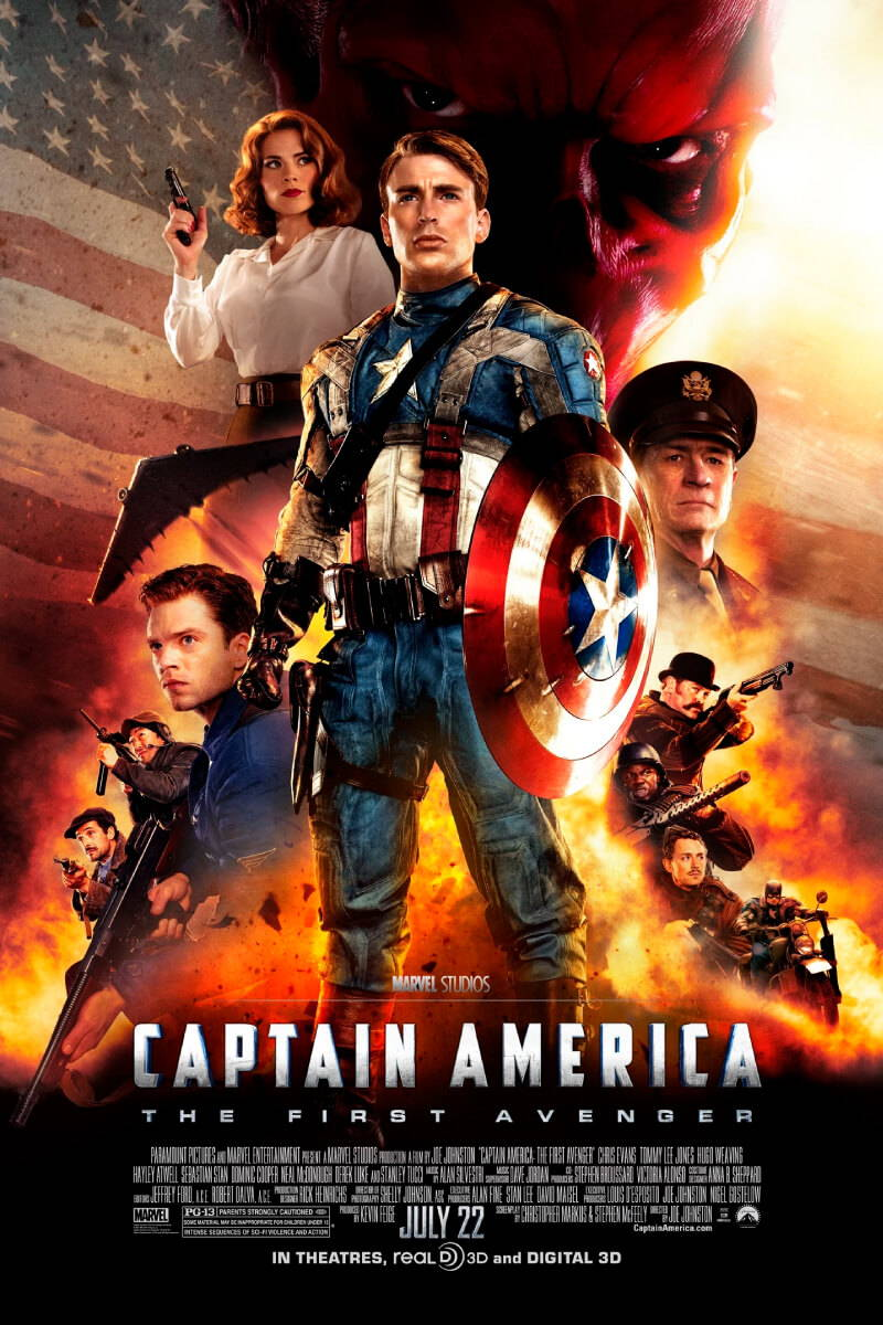 patriotic 4th of july movie CAPTAIN AMERICA: THE FIRST AVENGER