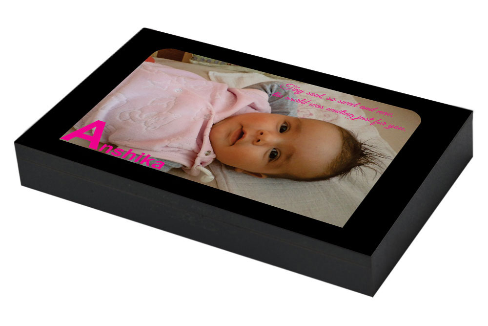 Baby girl announcement card ideas