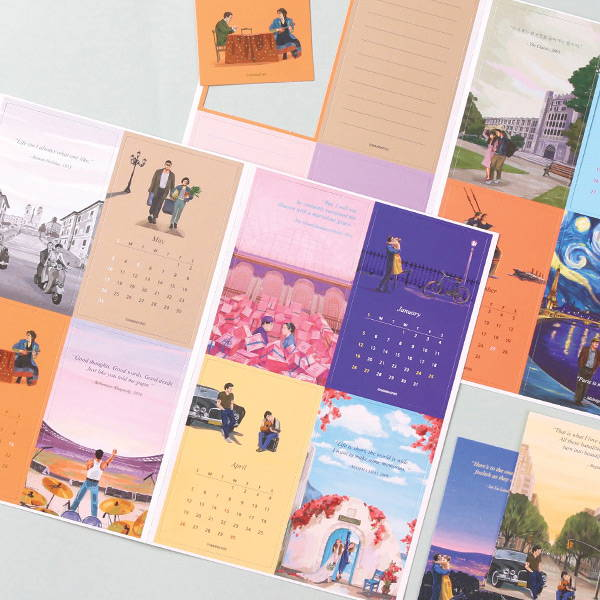 Comes with 16 cards - Wanna This Omnibus dateless weekly diary planner