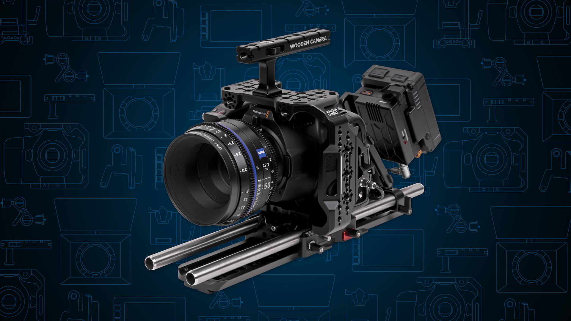 Wooden Camera's Blackmagic Pocket Cinema Camera 6K Pro, Top 10 Essential Accessories