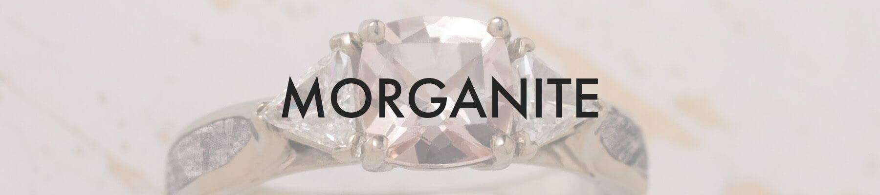 Morganite Engagement Ring (SKU 2514)