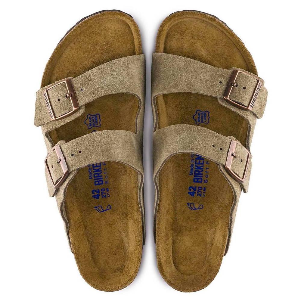 Birkenstock Arizona Sandal Taupe Suede