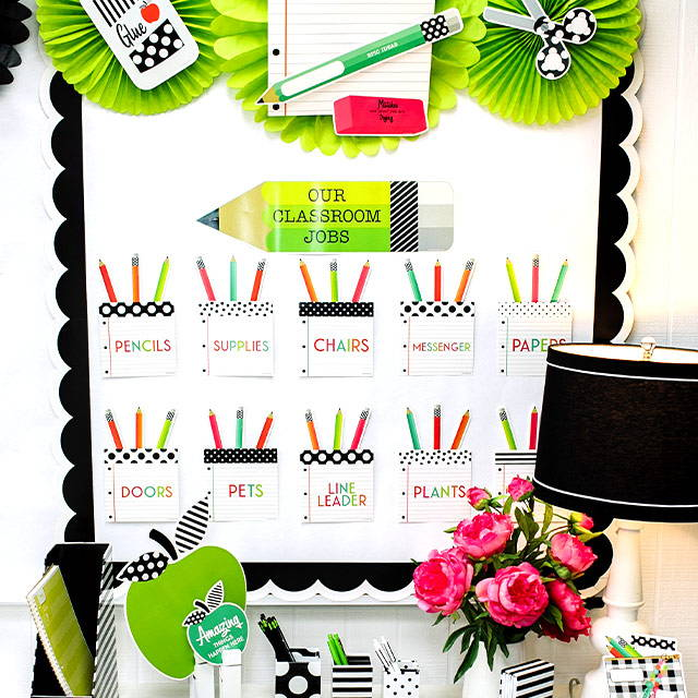 Our Classroom Jobs Bulletin Board Set