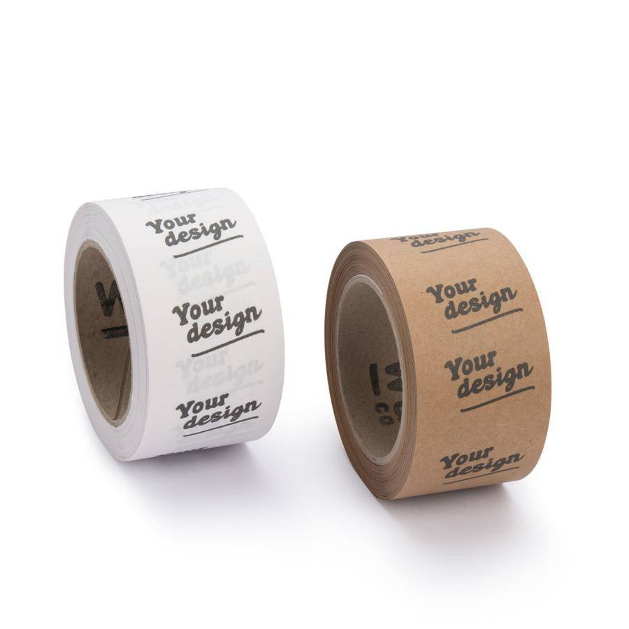 custom paper packing tape