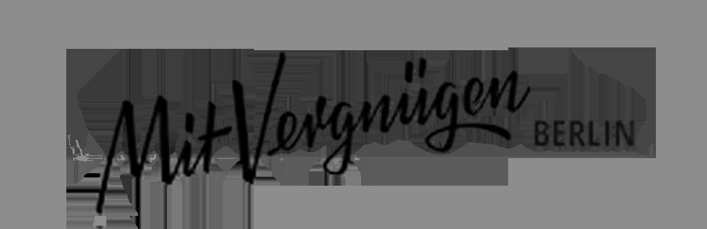 Mit Vergnügen Magazin Logo