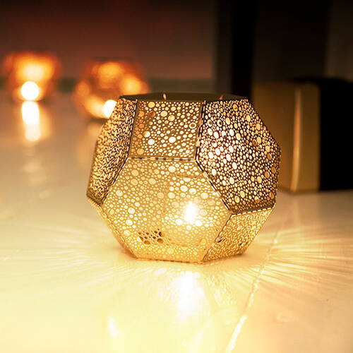 Tom Dixon Etch Dot Tea Light