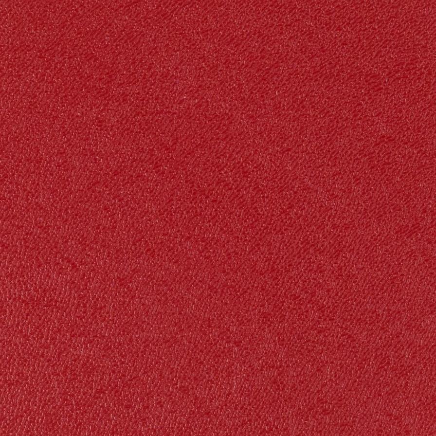 Red ABS laminate skin
