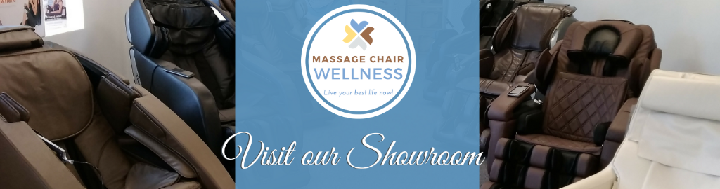 Visit our Massage Chair Wellness Showroom Today! 888-978-5285