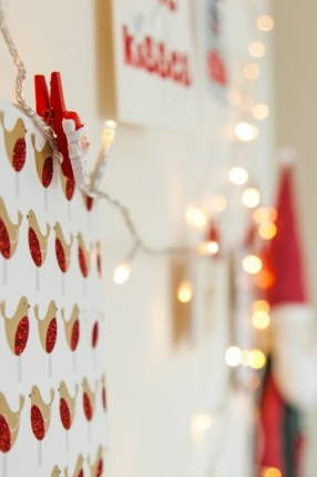 Christmas Fairy Lights Png.How To Display Your Christmas Cards Diy Christmas Fairy