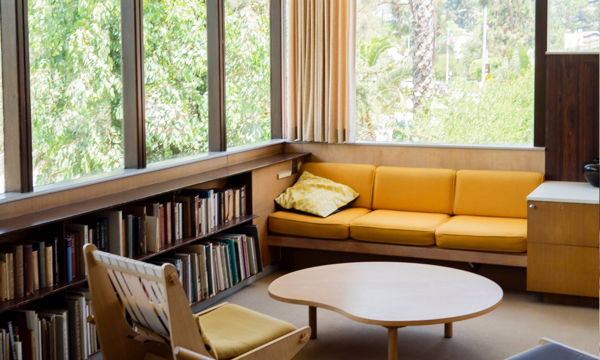 Richard Neutra Sitting Room